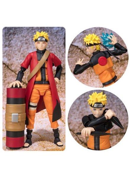 Figuarts Naruto Shippuden SH Figuarts Figure: Uzumaki Naruto Sage Mode Advanced Version Exclusive