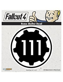 Fallout 4 Home Shelter Car Decal