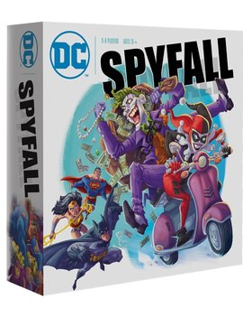 Cryptozoic Entertainment DC Spyfall