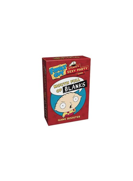 Family Guy Stewie's Sexy Party Game: Mouth Full of Blanks