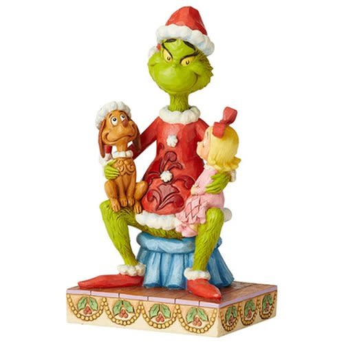Dr Seuss The Grinch With Cindy And Max By Jim Shore Statue Gamer Oasis