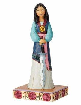 Disney Traditions Mulan Princess Passion Mulan Winsome Warrior by Jim Shore Statue