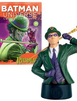 Batman Universe Riddler Collector's Bust with Collector Magazine #11