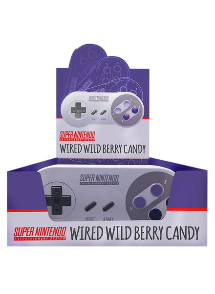 SNES Controller Wild Berry Sours