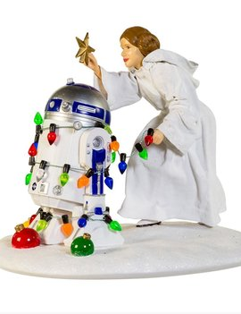 Star Wars Princess Leia and R2D2 Statue