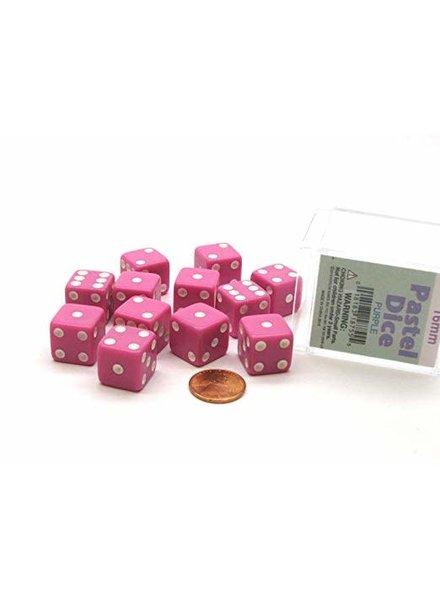 16Mm D6 Pastel Dice- Pink