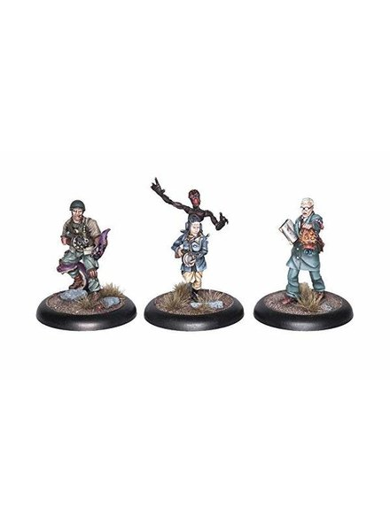 Achtung! Cthulhu: Miniatures - Allied Investigators Pack 1
