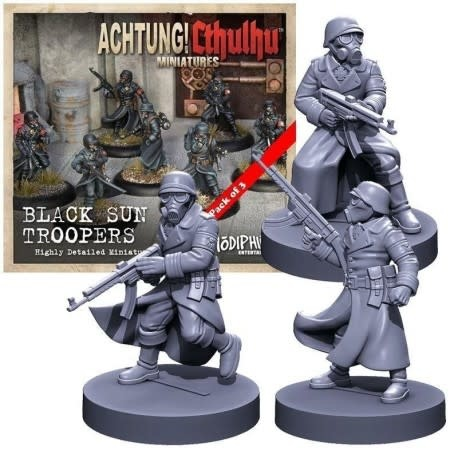 Achtung! Cthulhu: Miniatures - Black Sun Troopers
