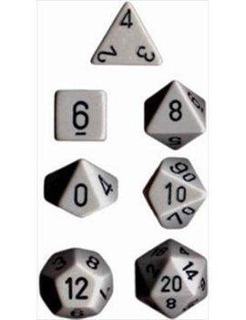 Chessex: Opaque Dark Grey With Black Sets