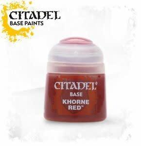Citadel Paint Base: Khorne Red