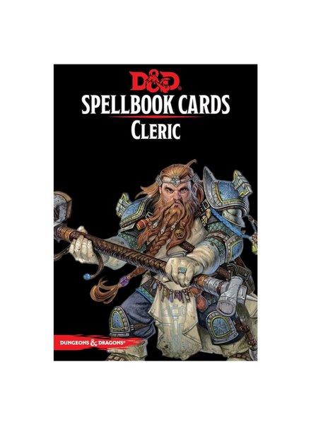 D&D Spell Deck Cleric