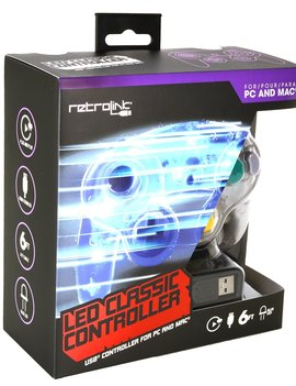 GCN USB Controller with LED