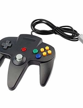 N64 Controller (Third Party) BLACK