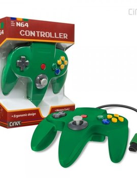 N64 Controller (Third Party) GREEN