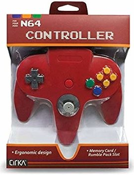 N64 Controller (Third Party) RED