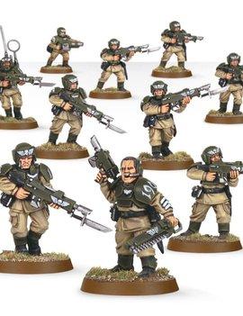 Astra Militarum: Cadian Infantry Squad