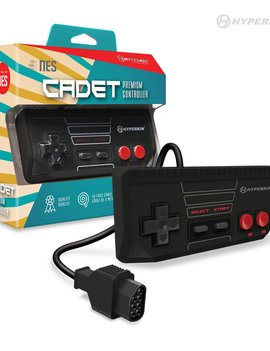 Cadet Premium Controller for NES (Black)
