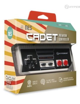 Cadet Premium Controller for NES (Gray)