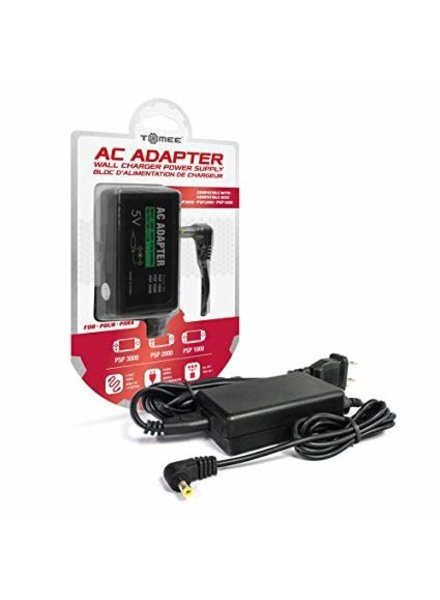 AC Adapter for PSP 3000/ PSP 2000/ PSP 1000 - Tomee