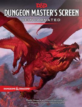 D&D 5th Edition DM Screen Reincarnate