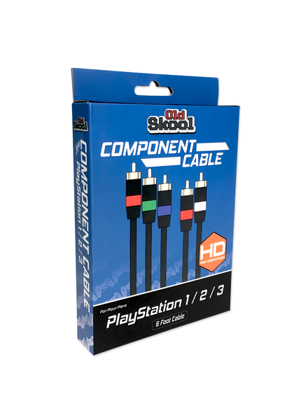 Old Skool Component AV Cable for PS1, PS2, PS3