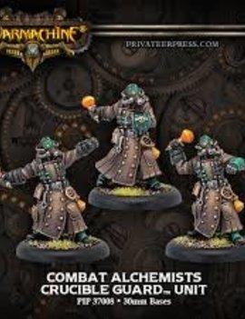 Golden Crucible Combat Alchemists (3)
