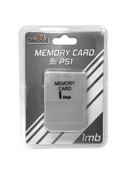 Old Skool PS1 1MB Memory Card