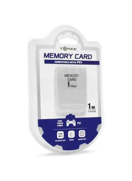 1MB Memory Card for PS1 - Tomee