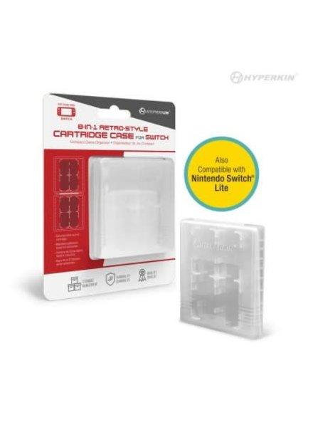 8-in-1 Retro-Style Cartridge Case for Nintendo Switch/ Nintendo Switch Lite - Hyperkin