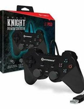 "Hyperkin ""Brave Knight"" Premium Controller for PS3/ PC/ Mac (Black)"