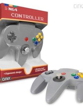 Old Skool N64 Controller Gray