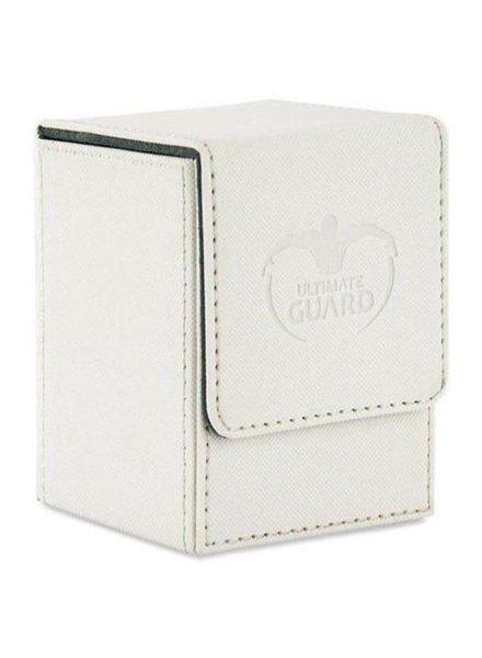Ultimate Guard UG Flip Deck Case Xenoskin 100+: White