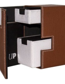 Ultra Pro UP Deck Box: M2.1 Brown/White
