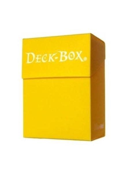 Ultra Pro UP Deck Box: Yellow