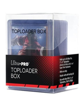 Ultra Pro UP Deck Box: Toploader