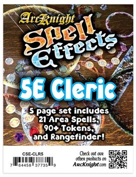 Spell Effects: Cleric 5E