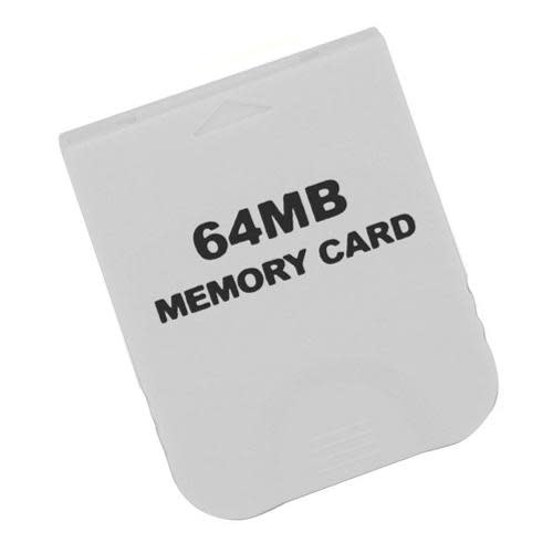 [Third Party] Wii/Gamecube 64MB Memory Card PRE-OWNED