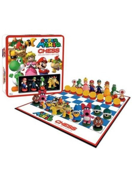 USAOPOLY Super Mario - Chess With Mini Figures