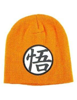 Dragon Ball Z Goku Symbol Orange Beanie Hat