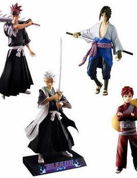 Naruto Shippuden and Bleach 6-Inch Figure Series 2