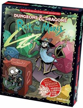 D&D 5E Adventures Dungeons & Dragons vs Rick & Morty