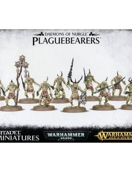 Games Workshop Daemons of Nurgle: Plaguebearers