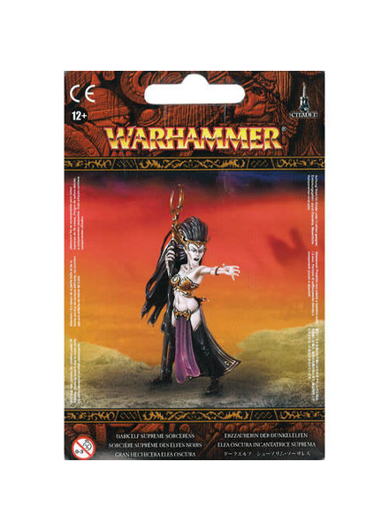 Games Workshop Cities of Sigmar: Dark Elf Supreme Sorceress