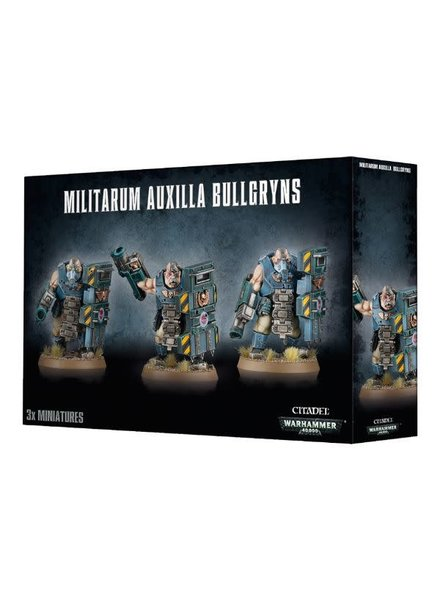 Games Workshop Astra Militarum: Bullgryns