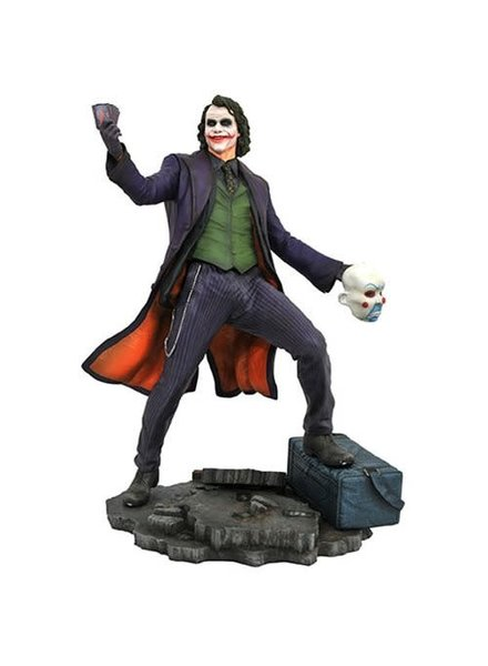 DC Gallery Batman Dark Knight Movie Joker Statue