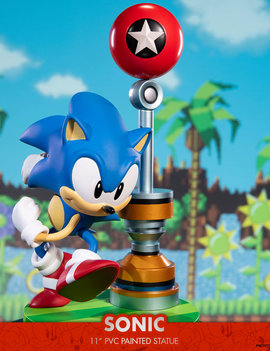 "First 4 Figures Sonic the Hedgehog: Sonic Exclusive Edition 11"" PVC Statue"