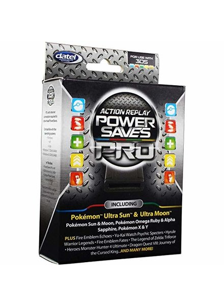 3DS Action Replay Power Saves Pro