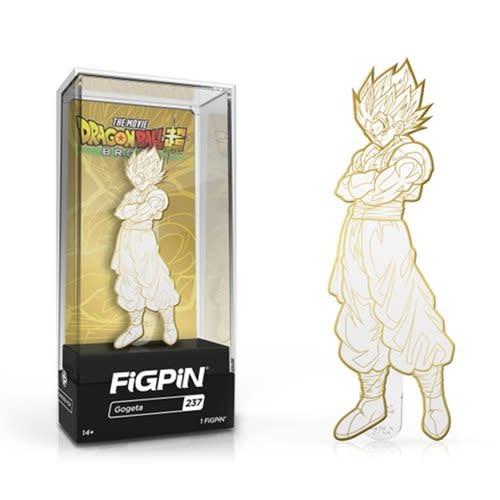 Dragon Ball Super Broly: Gogeta White and Gold Deco FiGPiN Enamel Pin