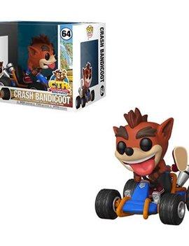 POP! Rides - Crash Bandicoot in Kart #64 - Crash Team Racing