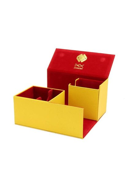 Dex Protection Creation Line Deck Box Large: Yellow
